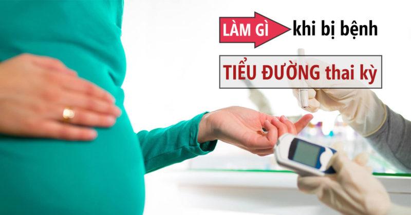 Mẹ nên làm gì khi nghi ngờ mình mắc tiểu đường thai kỳ