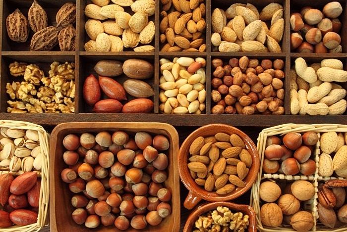 Mẹ bầu gần sinh dùng các loại hạt, đậu giúp cung cấp protein và chất béo lành mạnh cho cơ thể
